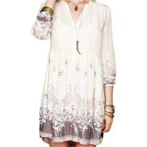 Free People Paisley Boho Dress - Women's Size XS